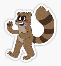 Rigby! Sticker