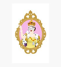 """Queens Only"" - Queen Elizabeth II Photographic Print"