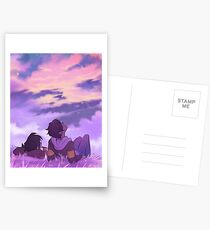 Sterne beobachten Postkarten
