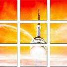Toronto CN Tower-Available As Art Prints-Mugs,Cases,Duvets,T Shirts,Stickers,etc by Robert Burns