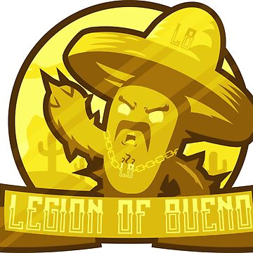 Legion of Bueno - Gold Shiny (limited addition) by jyles