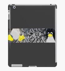 Penguin Linux Tux art graphic iPad Case/Skin