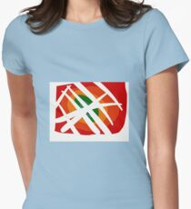 Inner City Circles Womens Fitted T-Shirt