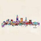 Cleveland Ohio skyline by bri-b