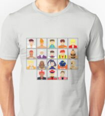 Select Your Character - Street Fighter Alpha 2 Unisex T-Shirt