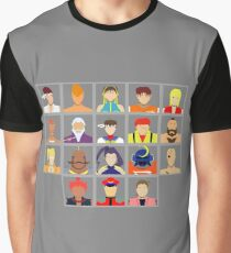 Select Your Character - Street Fighter Alpha 2 Graphic T-Shirt
