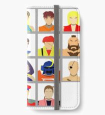 Select Your Character - Street Fighter Alpha 2 iPhone Wallet/Case/Skin