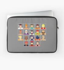 Select Your Character - Street Fighter Alpha 2 Laptop Sleeve
