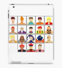 Select Your Character - Street Fighter Alpha 2 iPad Case/Skin