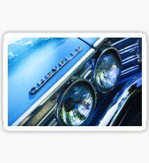 1967 Chevrolet Chevelle Malibu Head Light Emblem -0051c Sticker
