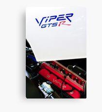 1998 Dodge Viper GTS-R Engine -0311c Canvas Print