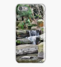 A Fall of Water - Roma St Parklands Brisbane iPhone Case/Skin