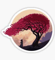 Finally Back Sticker