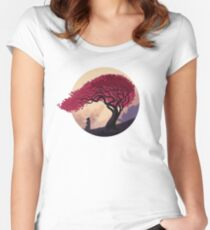 Finally Back Women's Fitted Scoop T-Shirt