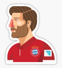 Xabi Alonso Sticker