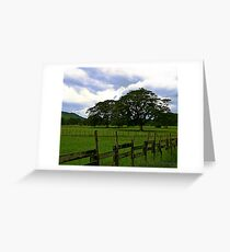 Fences Can't Hold Me In Greeting Card