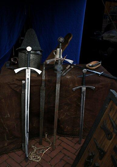 3 Swords & 2 Hats by patjila