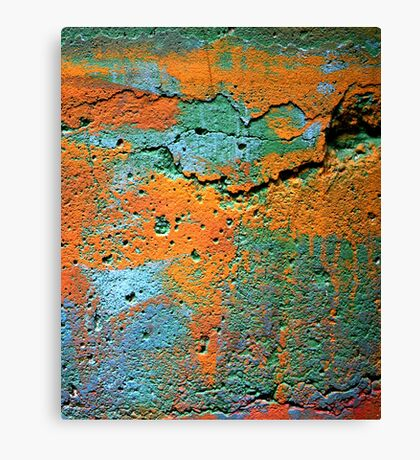 IPad case of Whacking Colours Canvas Print