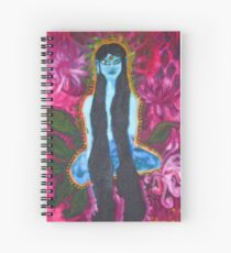 Forest Yogini Spiral Notebook