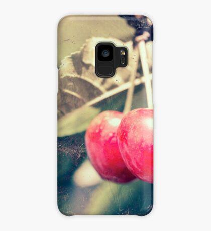 A pair of cherries Case/Skin for Samsung Galaxy