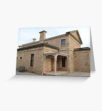 Historic Building - Beechworth Victoria Greeting Card
