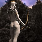 Diana, Goddess Of The Hunt III by Al Bourassa