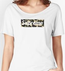 sup camo Women's Relaxed Fit T-Shirt