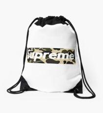 sup camo Drawstring Bag