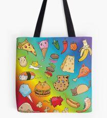 Cat Food Tote Bag