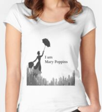 I am Mary Poppins Women's Fitted Scoop T-Shirt