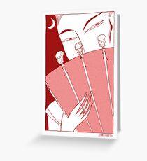 Turandot Greeting Card