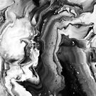 Leaking Black and White Marble by 4ogo Design