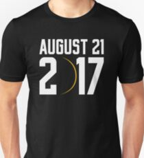 USA Total Solar Eclipse 2017 august T-Shirt