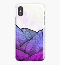Early Morning Mountains iPhone Case/Skin
