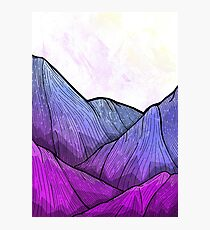 Early Morning Mountains Photographic Print