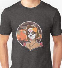 Candy Skull Girl Unisex T-Shirt