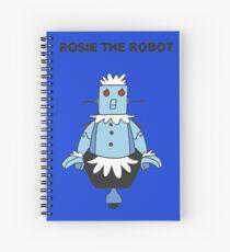Rossie Robomaid Spiral Notebook
