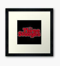 Three Ultra Stooges Framed Print