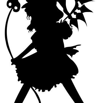 Flandre Scarlet (Black) - Touhou Project by Sukima