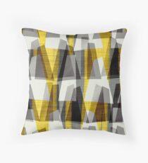Midcentury, modern, Retro, Doris Print Throw Pillow