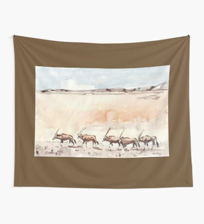 Gemsbuck in the Kalahari Wall Tapestry