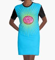 Delicious Doughnut Graphic T-Shirt Dress