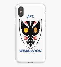 AFC Wimbledon iPhone Case/Skin