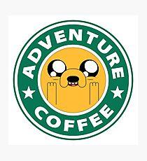 Adventure Jake Coffee Photographic Print