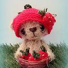 Shortcake, Strawberry Bear by Penny Bonser