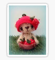 Shortcake, Strawberry Bear Sticker