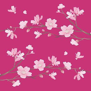 Cherry Blossom - Magenta by designenrich