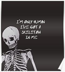 I'm only human Poster
