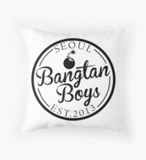 BTS/Bangtan Boys Est. 2013 Throw Pillow