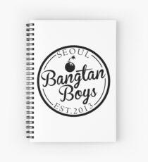BTS/Bangtan Boys Est. 2013 Spiral Notebook